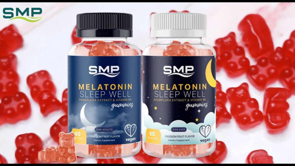 Adult & Kids Melatonin Gummies | A Featured Private Label Product from SMP Nutra