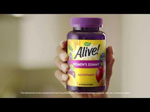 Alive & Thriving with Alive! Multivitamins Gummies