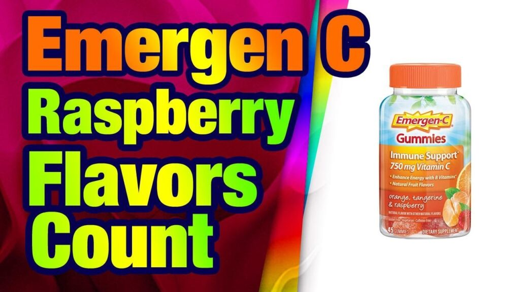 Emergen-C 750mg Vitamin C Gummies for Adults, Immunity Gummies with B Vitamins, Gluten Fre