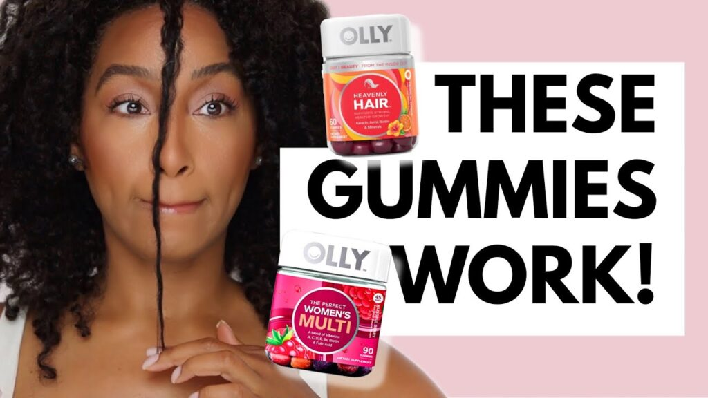 Hair Gummies for Hair Growth | Before and After