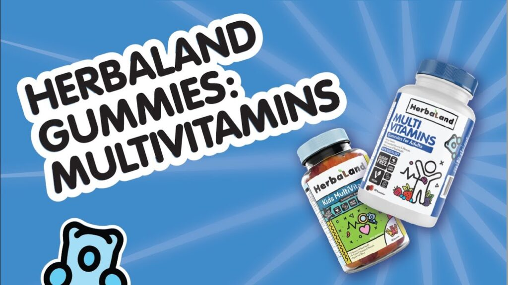 Herbaland Multivitamin Gummies for Adults and Kids