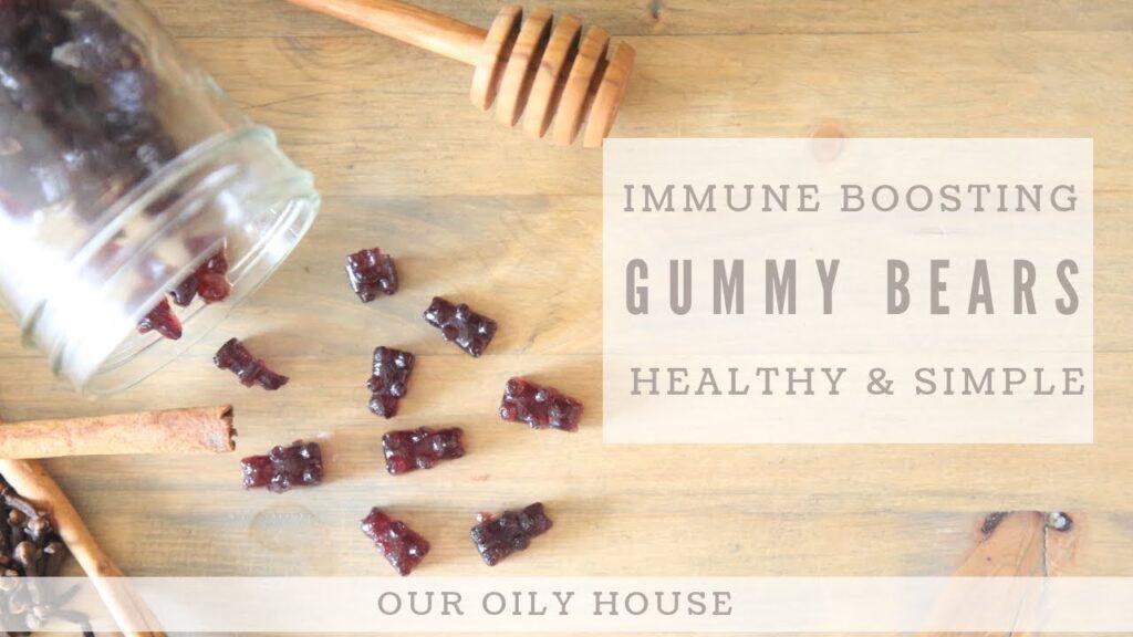 Homemade Immune Boosting Gummy Bears