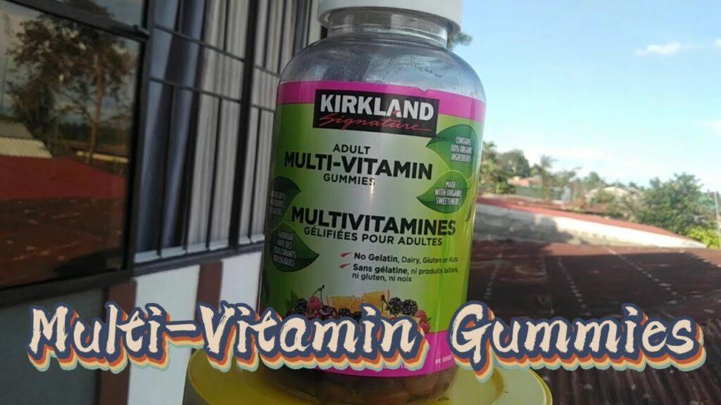 Kirkland Signature Adults Multi-vitamins Gummies / Infomercial