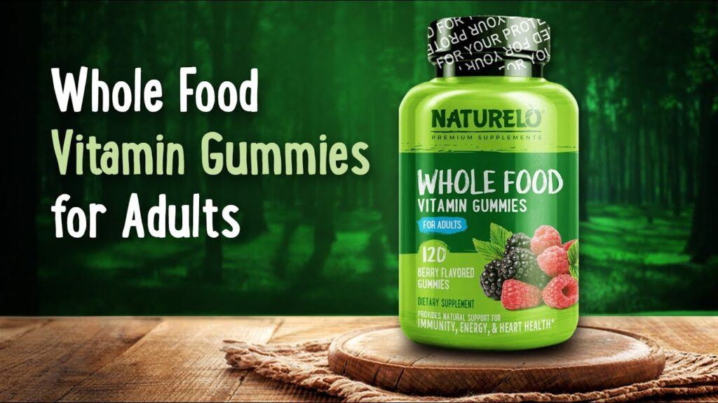 NATURELO Whole Food Vitamin Gummies for Adults