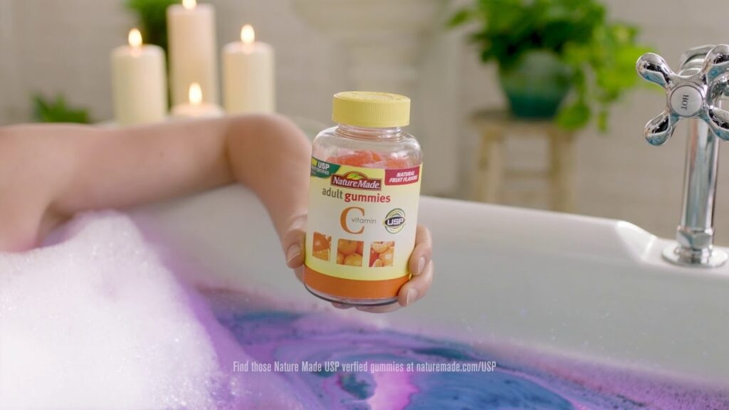 "Nature Made Adult Gummies ""Bath Bomb 6"""