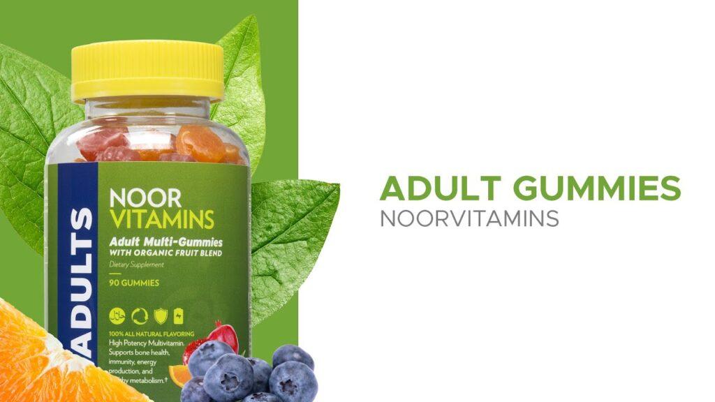 NoorVitamins – Adult Multivitamin Gummies
