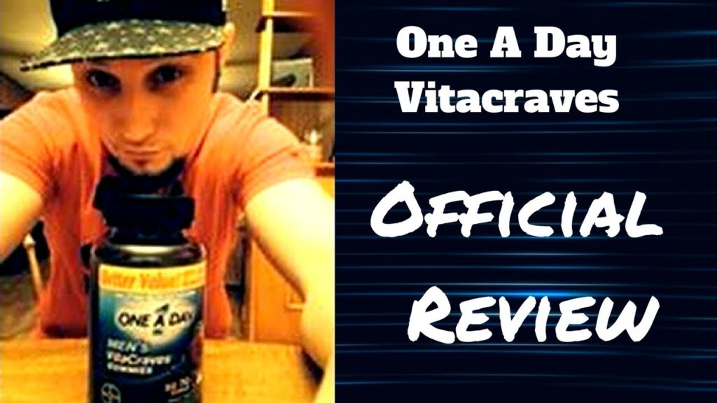 One A Day Men's VitaCraves Gummies Review