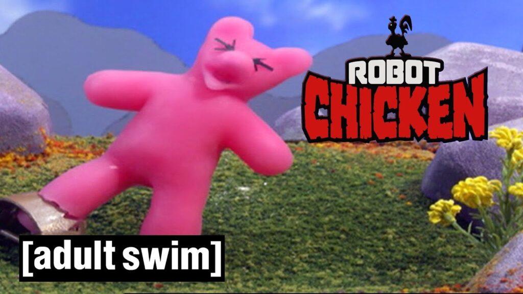 Robot Chicken | Delicious Gummy Bears | Adult Swim UK 🇬🇧