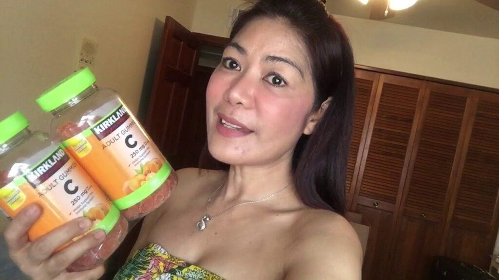 Susan Vlogs Vitamin C good for skin Kirkland Vitamin c Gummies fr USA 🇺🇸 Costco