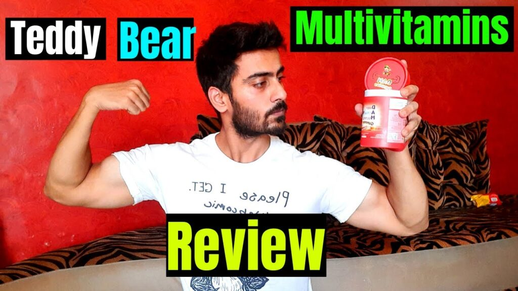 Teddy Bear waali Multivitamins Gummies | REVIEW in hindi